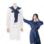 IU(アイユー)風 ルーズワンピース 長袖 可愛い蝶リボン アイドル 衣装