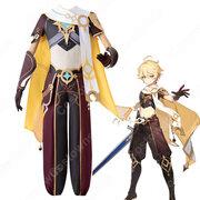 空(そら、Aether)コスプレ衣装 『原神』(げんしん、 Genshin Impact)男主人公 旅人 仮装・変装衣装