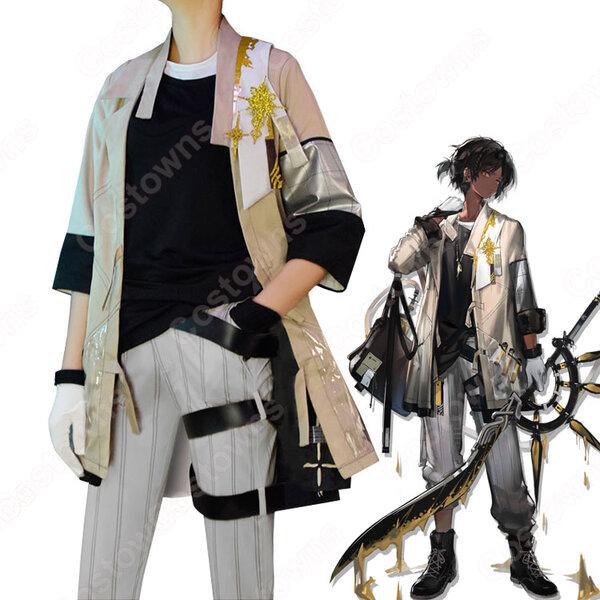 ソーンズ (そーんず、Thorns) 制服 コスプレ衣装 『アークナイツ/Arknights』の登場人物の仮装 コスチューム元の画像