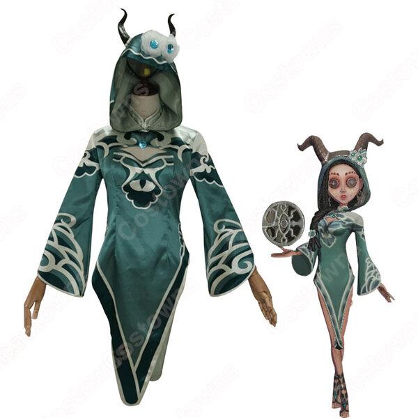 IdentityV 第五人格 祭司(フィオナ・ジルマン) プーアル コスプレ衣装【アイデンティティV 】サバイバー スキン cosplay 仮装 変装元の画像