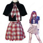 BLACKPINK コスチューム 応援団 衣装 韓国ファッション チアガール 衣装 着痩せ ダンス服 学生制服 普段着 上下セット コスプレ衣装