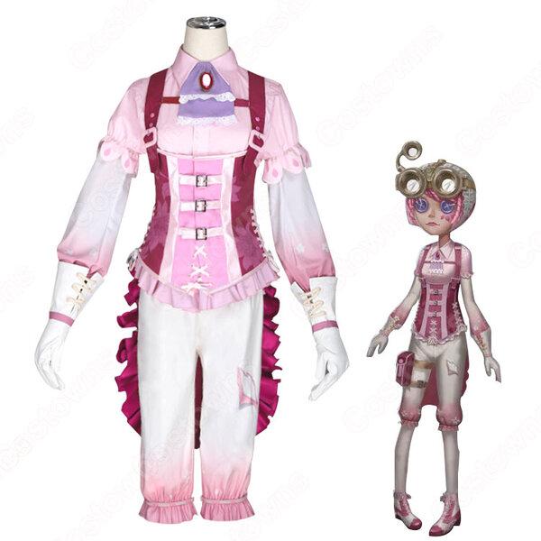 アイデンティティV 機械技師(トレイシー・レズニック) アルビジアの謎 コスプレ衣装 【IdentityV 第五人格】サバイバー スキン かわいい ピンク色 cosplay 仮装 変装元の画像