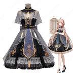 中華ロリータ(Lolita) 中華風 スカート チャイナ風ワンピース コスプレ衣装 学園祭 文化祭 日常着