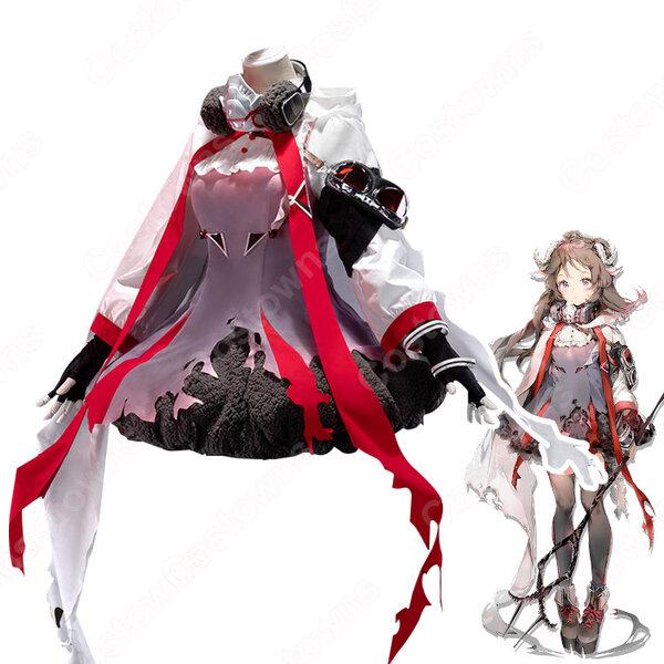 エイヤフィヤトラ( Eyjafjalla) コスプレ衣装 『アークナイツ/Arknights』 コスプレ道具 cosplay 仮装 変装元の画像
