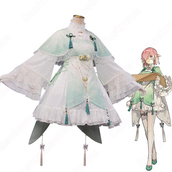 Fate FGO マシュ・キリエライト 4周年 コスプレ衣装 【Fate/Grand Order】 チャイナ風 cosplay 仮装 変装元の画像