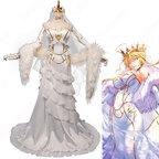 Fate FGO アルトリア・ペンドラゴン 花嫁 ドレス コスプレ衣装 『Fate/Grand Order』(フェイト・グランドオーダー) アーサー王 白スカート cosplay 仮装 変装