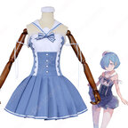 リゼロ レム セーラー服 コスプレ衣装『Re:ゼロから始める異世界生活(りぜろからはじめるいせかいせいかつ)』 cosplay 仮装 変装