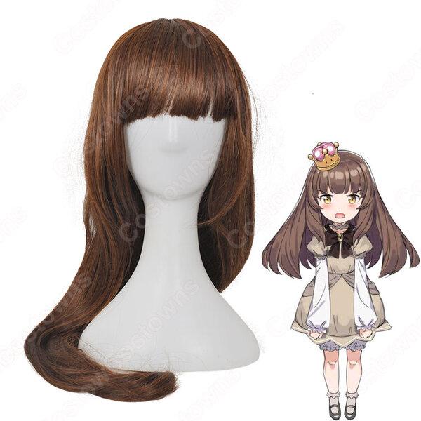 スーパーマリオ クリボー姫(くりぼーひめ) 擬人化 コスプレ ウィッグ cosplay wig 道具 通販元の画像