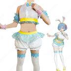 リゼロ ラム&レム イースター バニー コスプレ衣装【Re:ゼロから始める異世界生活】 cosplay 仮装 変装