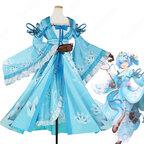 リゼロ レム 漢服 コスプレ衣装『Re:ゼロから始める異世界生活(りぜろからはじめるいせかいせいかつ)』 cosplay 仮装 変装