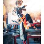 ワイフー コスプレ衣装 『アークナイツ/Arknights』 獣耳&尻尾付き コスプレ道具 cosplay 仮装 変装