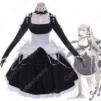 アズレン 空母・フォーミダブル ドレス コスプレ衣装 『アズールレーン』 航空母艦3番 スカート cosplay 仮装 変装