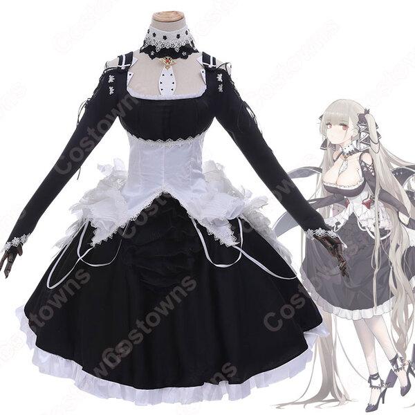 アズレン 空母・フォーミダブル ドレス コスプレ衣装 『アズールレーン』 航空母艦3番 スカート cosplay 仮装 変装元の画像
