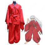 犬夜叉 着物 コスプレ衣装 『犬夜叉(いぬやしゃ)』赤 きもの cosplay 仮装 変装