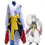 殺生丸(せっしょうまる)着物 コスプレ衣装 『犬夜叉(いぬやしゃ)』きもの cosplay 仮装 変装