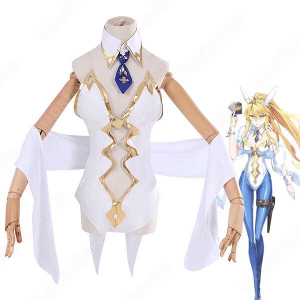 Fate FGO 水着獅子王 バニー槍王 コスプレ衣装『Fate/Grand Order』 バニーガール アルトリア・ペンドラゴン ルーラー Saber cosplay 仮装 変装元の画像