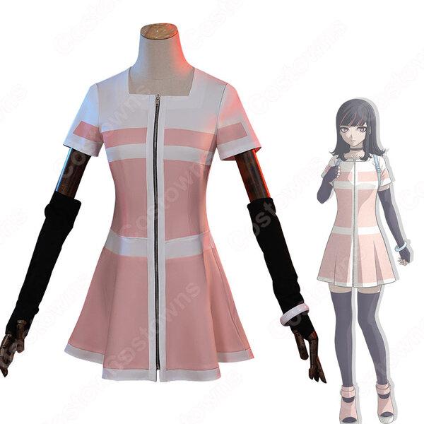 一般人 詐欺師 コスプレ衣装 『アクダマドライブ』 主人公 ワンピース cosplay 仮装 変装元の画像