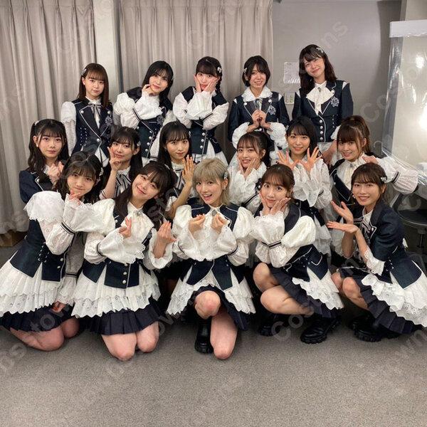AKB48 「離れていても」アイドル衣装 第62回 日本レコード大賞 チーム8 演出服 ライブ衣装 コスプレ衣装 制服 オーダメイド可 オーダメイド可元の画像