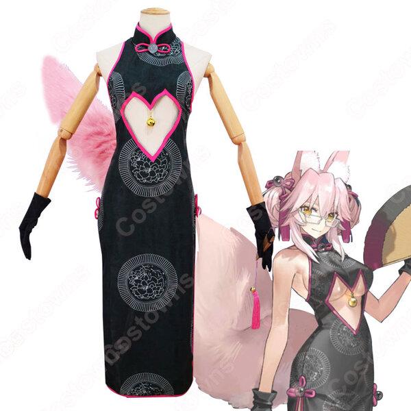 Fate fgo コヤンスカヤ チャイナドレス コスプレ衣装 『Fate/Grand Order』 女狐 秘書 cosplay 仮装 変装元の画像