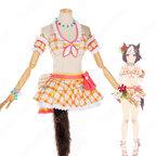 ウマ娘 水着スペシャルウィーク コスプレ衣装 『ウマ娘 プリティーダービー』 水着 cosplay 仮装 変装