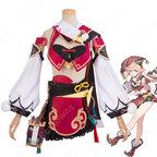 煙緋(えんひ) コスプレ衣装 コスプレ靴 『原神(げんしん)』 cosplay 仮装 変装