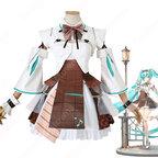 初音ミク コスプレ衣装 高能手办团 コラボ 休日 cosplay