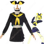鏡音リン(カガミネリン) 劣等上等 コスプレ衣装 『鏡音リン・レン』 セーラー服 cosplay 仮装 変装
